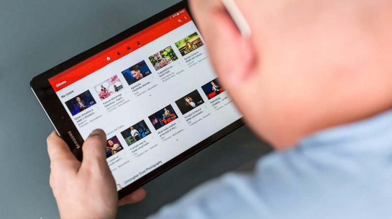 youtube tablet